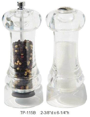 Pepper Mill & Salt Shaker